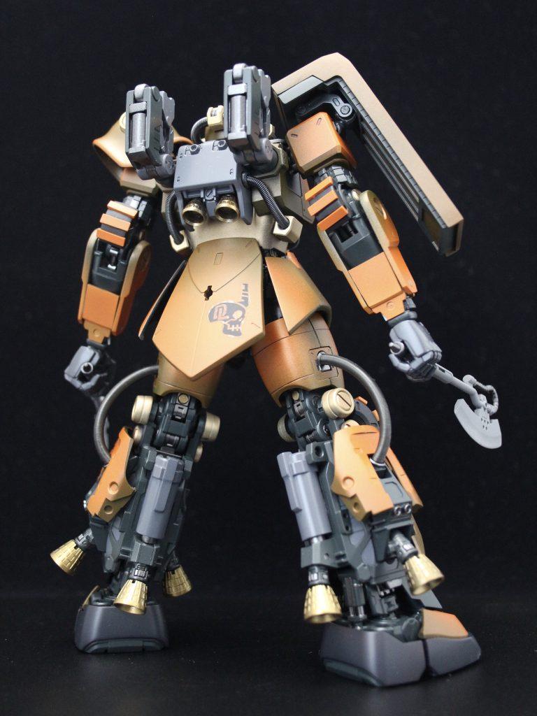 PSYCHO ZAKU Mk-Ⅱ  Daryl Lorentz's custom アピールショット4