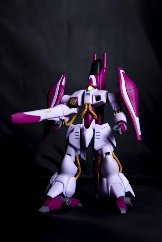 HG ハマーン専用ガザC アピールショット1