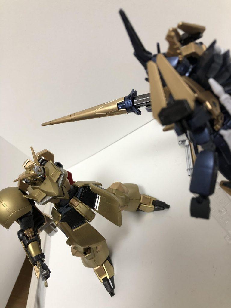 黒騎士ガンダムDN91 制作工程1