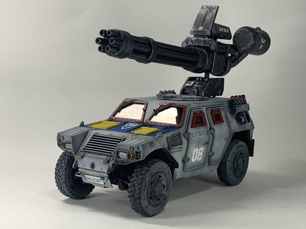 連邦軍!対モビルスーツ新型兵器! アピールショット2