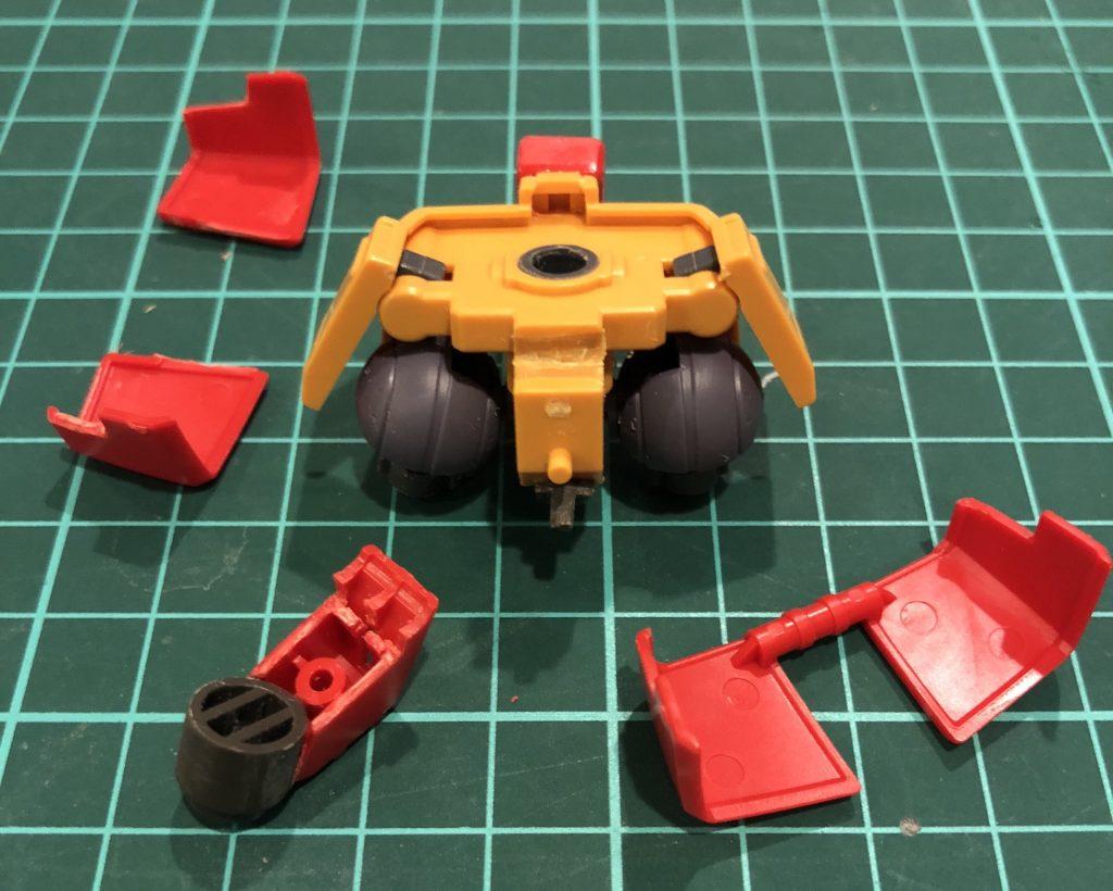 量産型ガンキャノン ミキシング 制作工程2