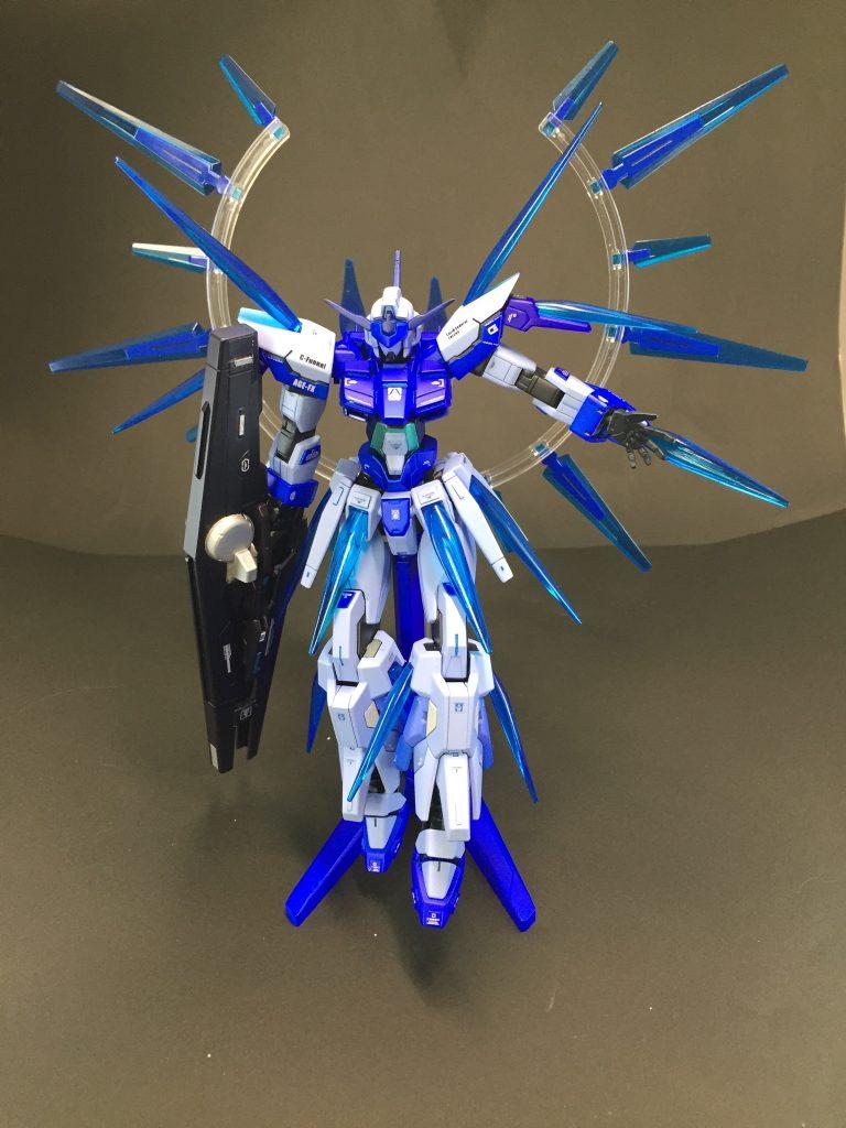 ガンダム AGE-FX バースト アピールショット1