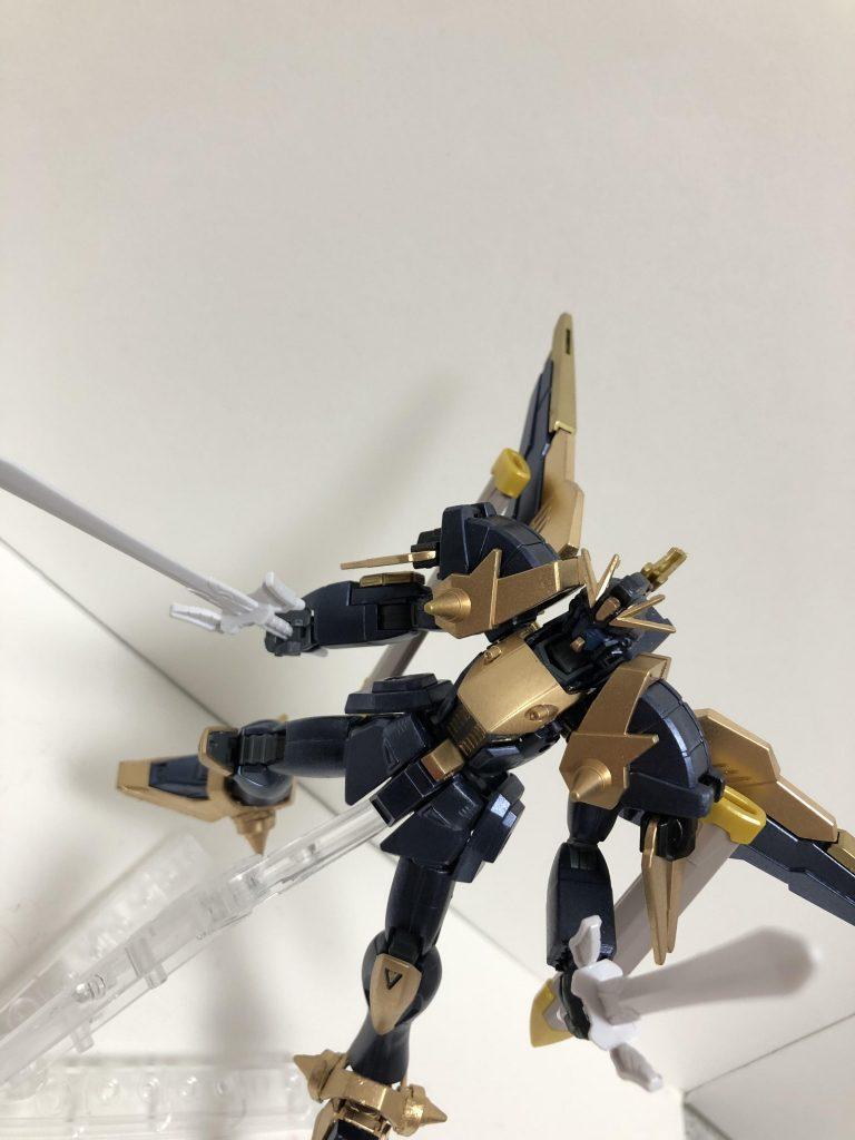 黒騎士ガンダムDN91 制作工程4