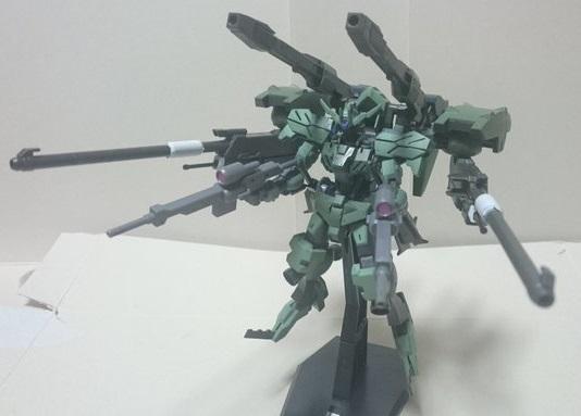 高機動強襲型試験機 制作工程8