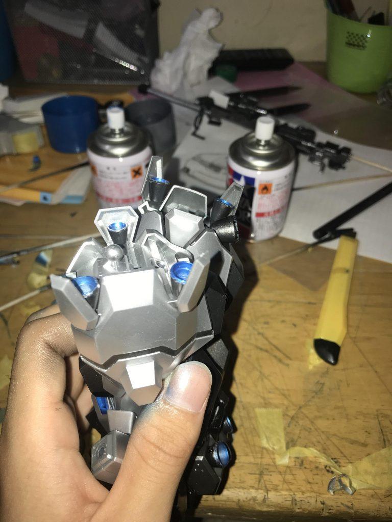 夜間強襲用重武装型グスタフ・カール 制作工程4