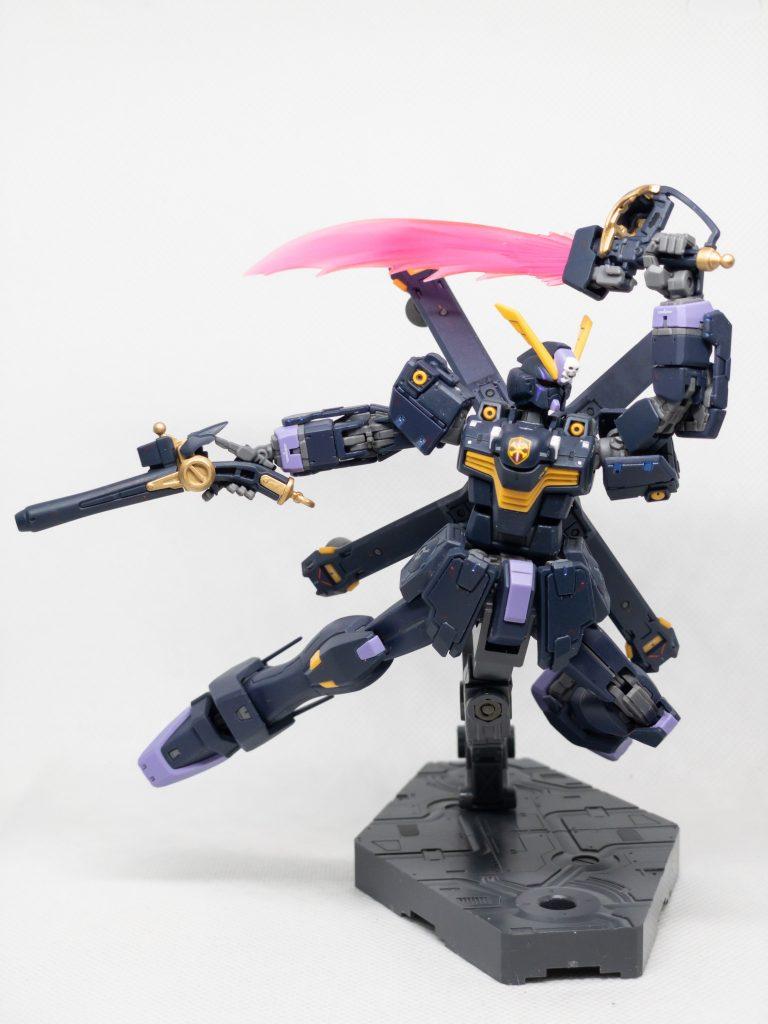 RG クロスボーン・ガンダムX2 アピールショット4