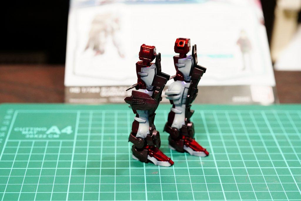 HG ガンダムアストレイ・ノーネーム 制作工程3