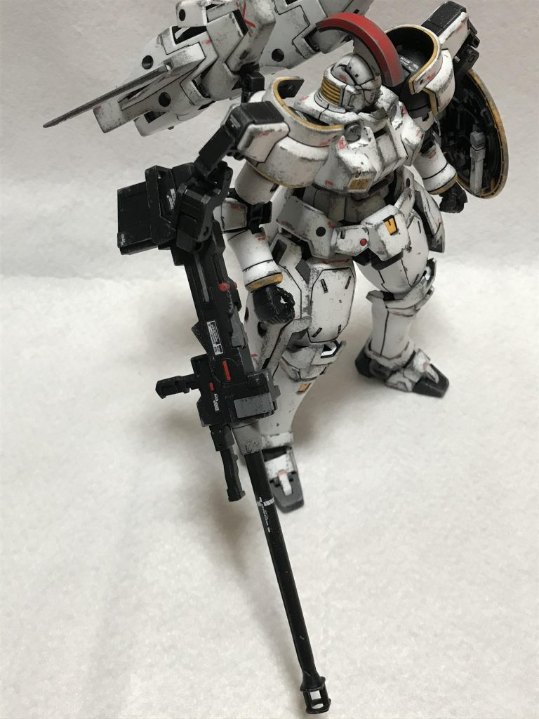 MG 1/100 OZ-00MS トールギスI ウェザリング アピールショット2