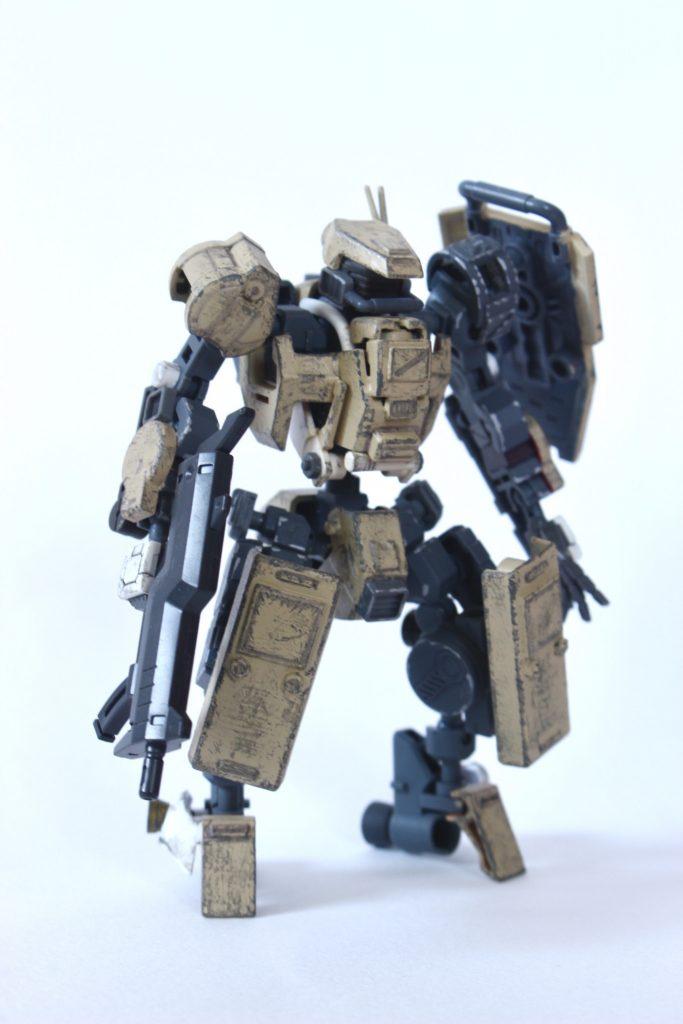 M-16C ハンティングジャッカル 制作工程3