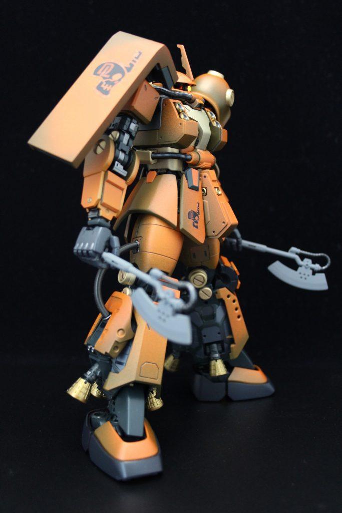 PSYCHO ZAKU Mk-Ⅱ  Daryl Lorentz's custom アピールショット5