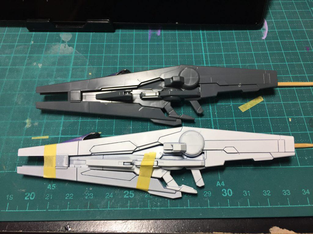 ガンダム AGE-FX バースト 制作工程2