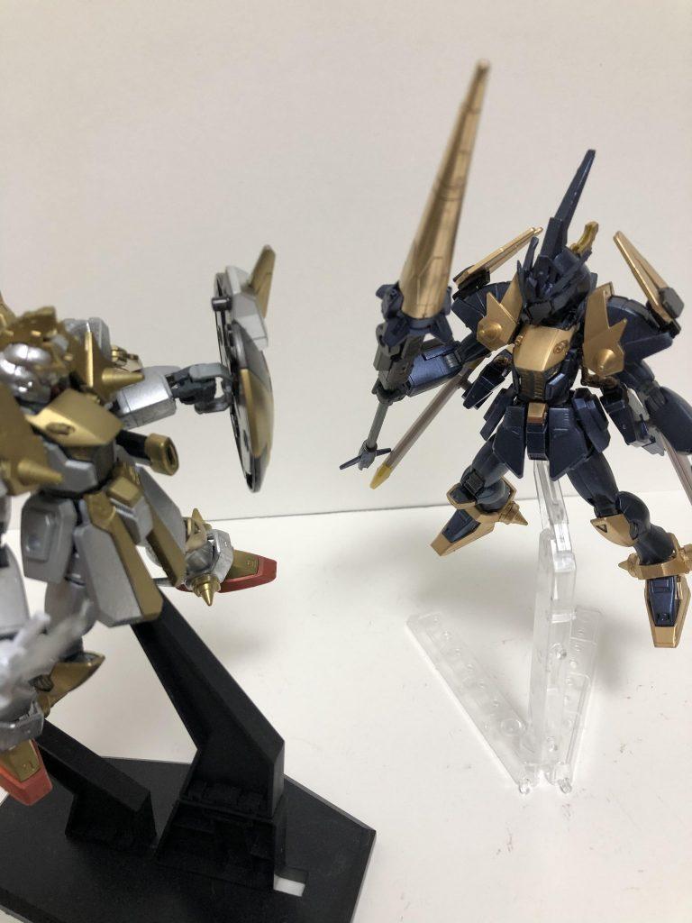 黒騎士ガンダムDN91 制作工程3