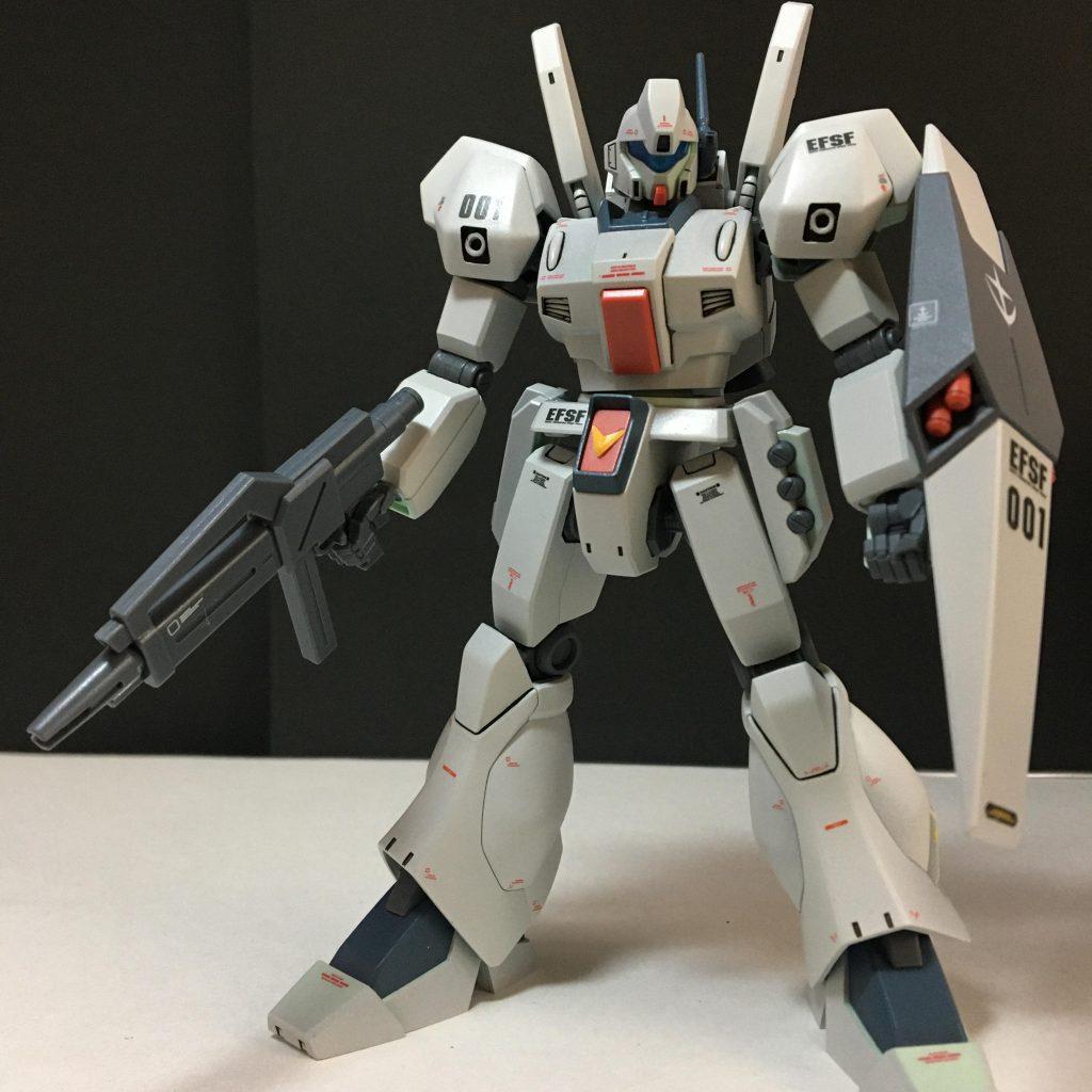 HGUC RGM-89 ジェガン アピールショット1