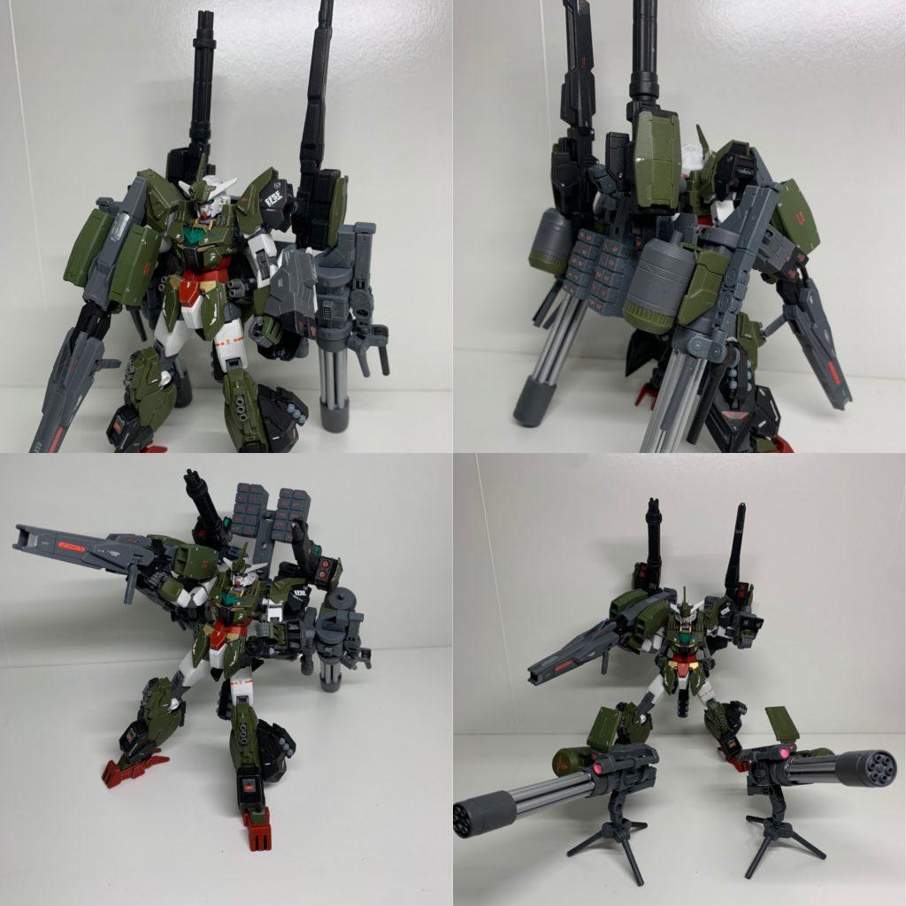 ヴィートルーガンダム火力強化型(α装備&β装備) アピールショット6