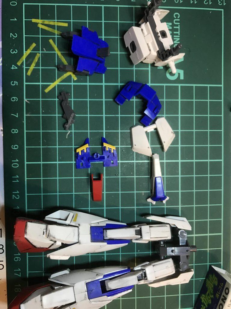 HGUC 041 1/144 MSZ-006 ZETA GUNDAM 制作工程2