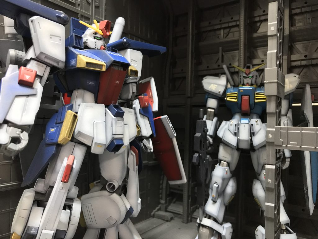 MG ZZガンダム アピールショット3