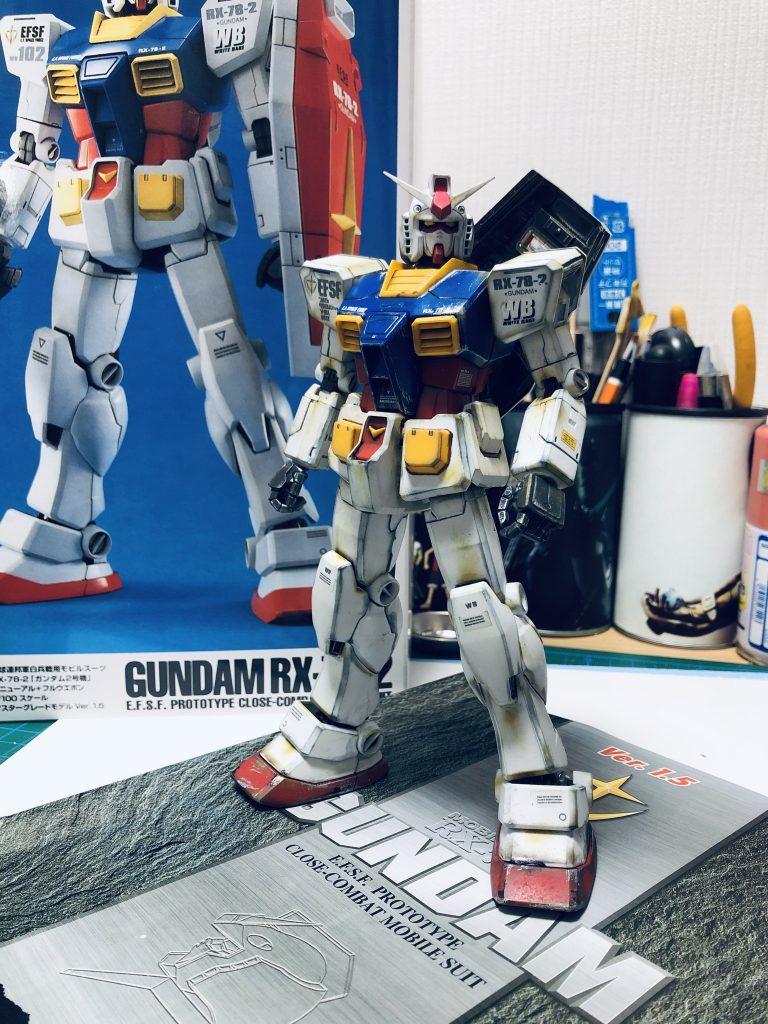Gundam RX-78-2 アピールショット3