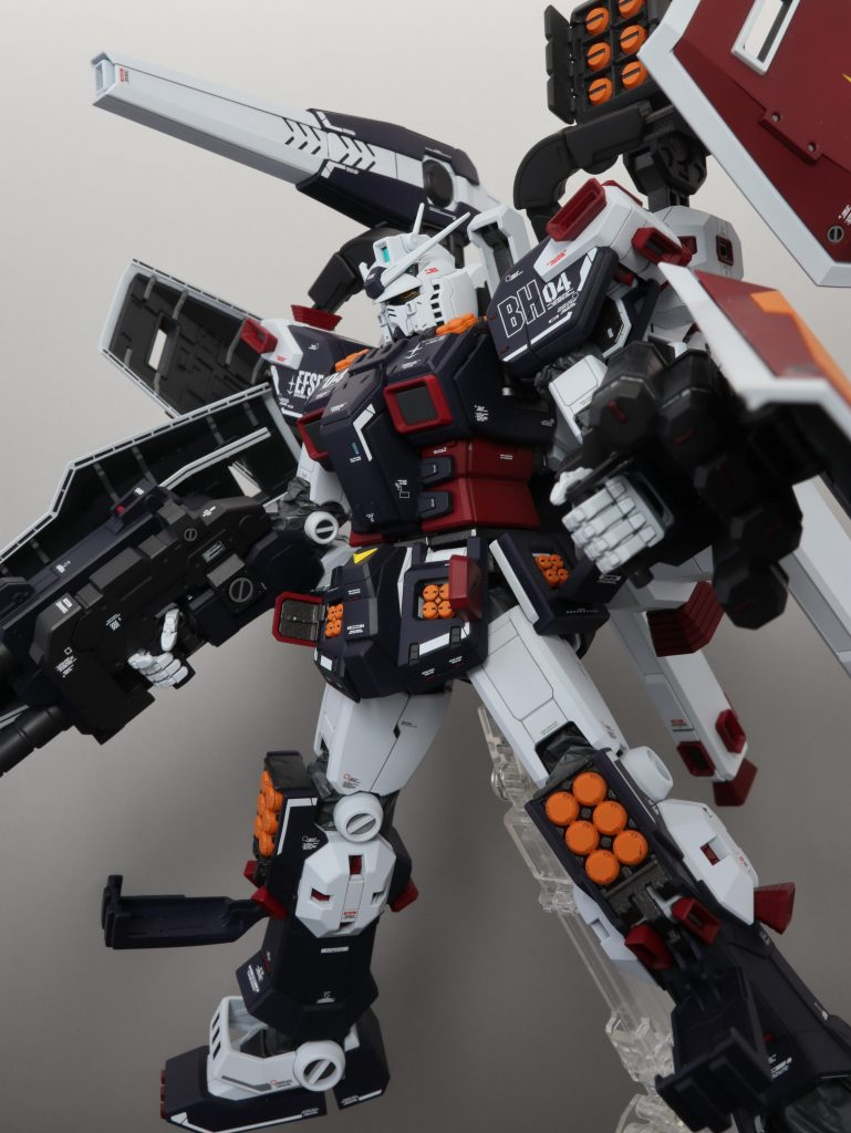 MG フルアーマー・ガンダム(サンダーボルト版) Ver.Ka 制作工程1