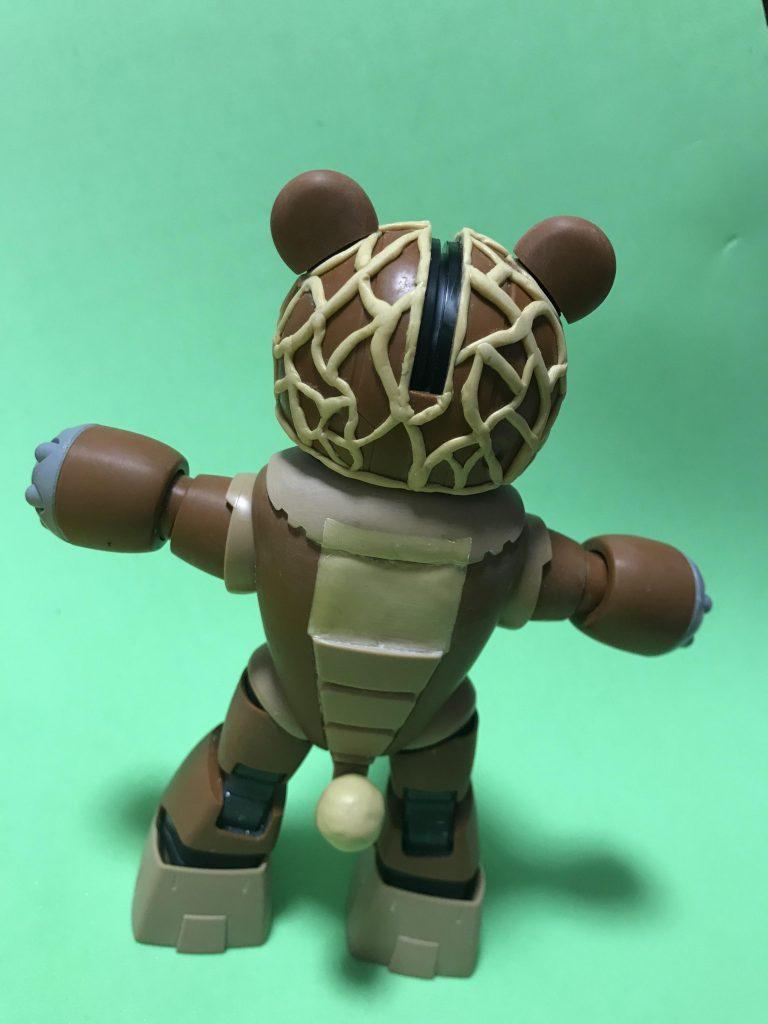 メロン熊(ベア)ッガイ 制作工程2
