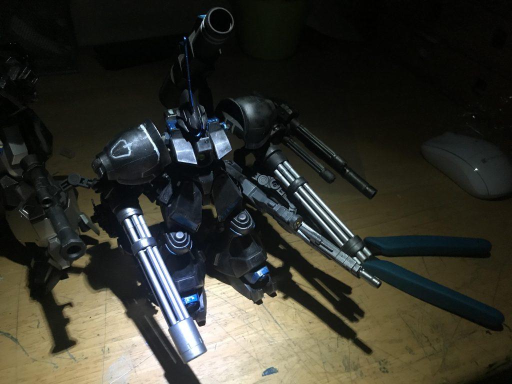 夜間強襲用重武装型グスタフ・カール アピールショット4