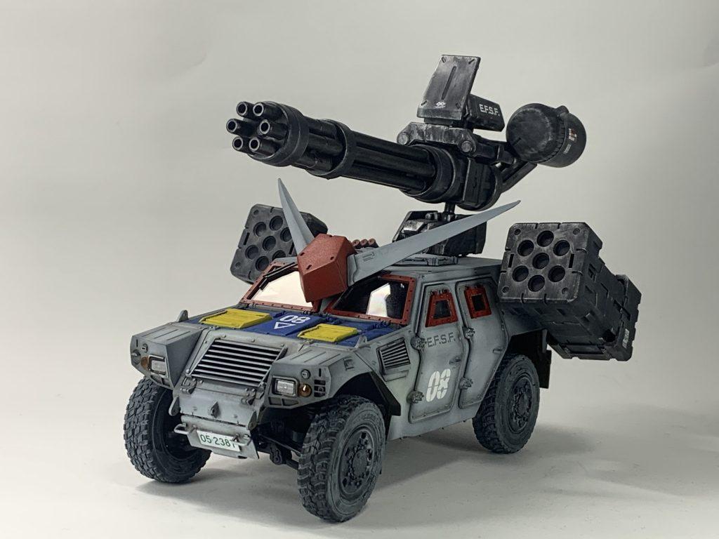 連邦軍!対モビルスーツ新型兵器! アピールショット4
