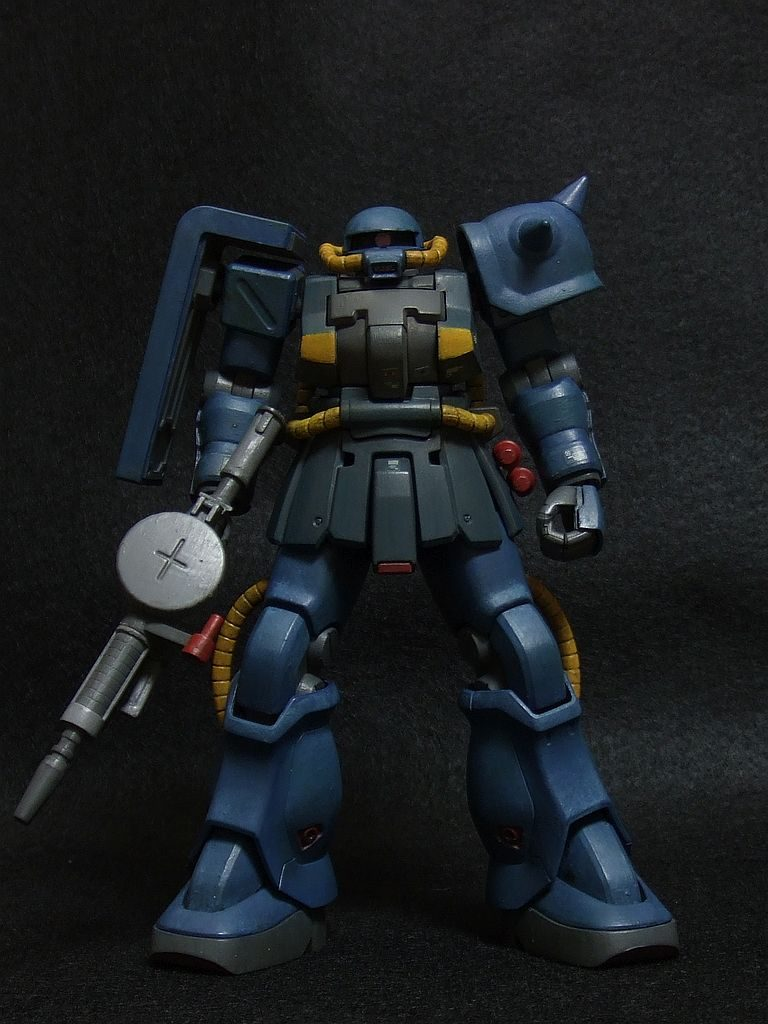 ザクF2 連邦軍カラー アピールショット3
