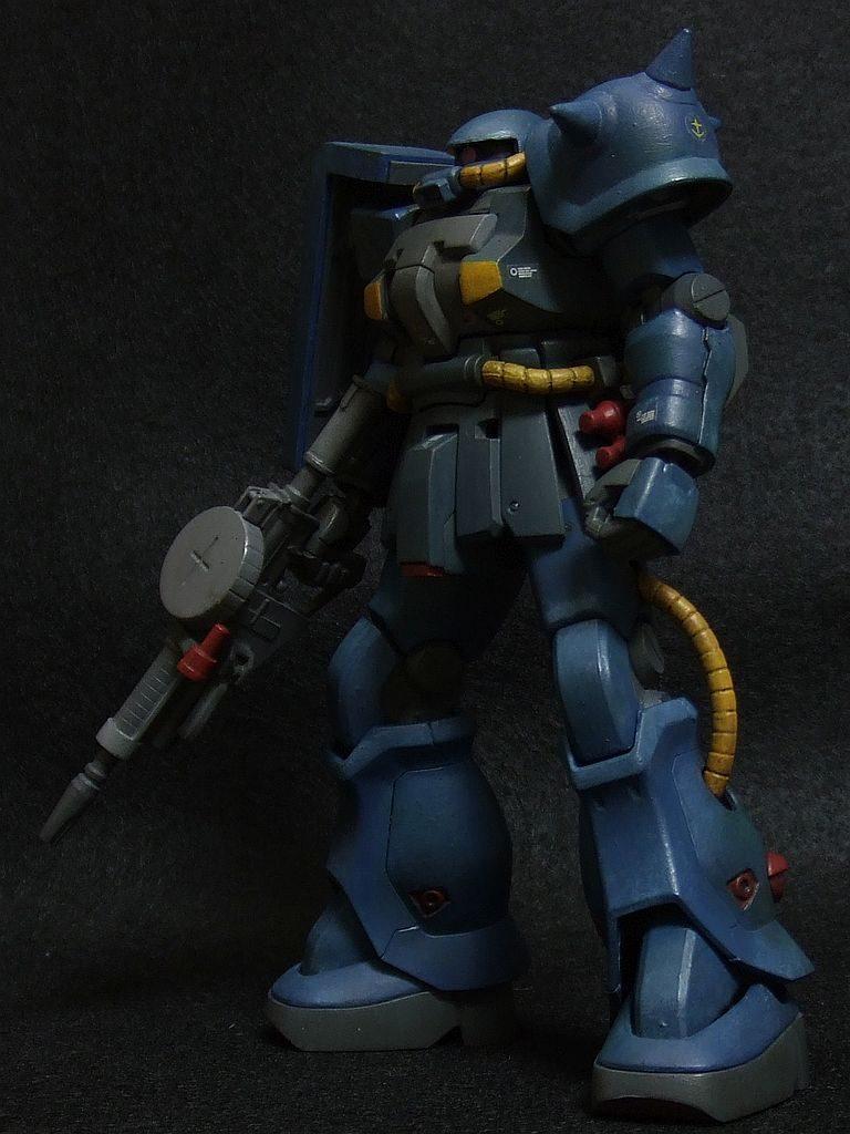 ザクF2 連邦軍カラー アピールショット1