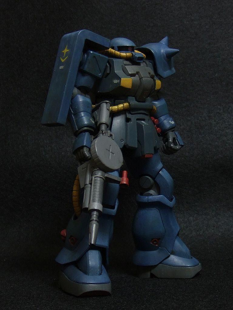 ザクF2 連邦軍カラー アピールショット2