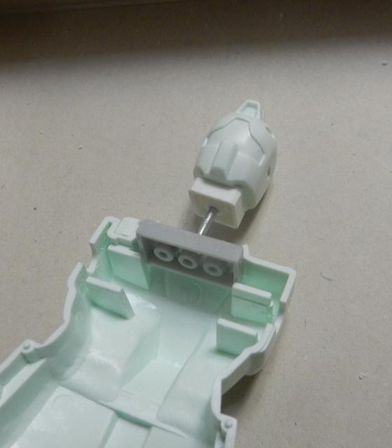 旧キット  ジムⅡ ワイヤーフレーム風塗装 制作工程1