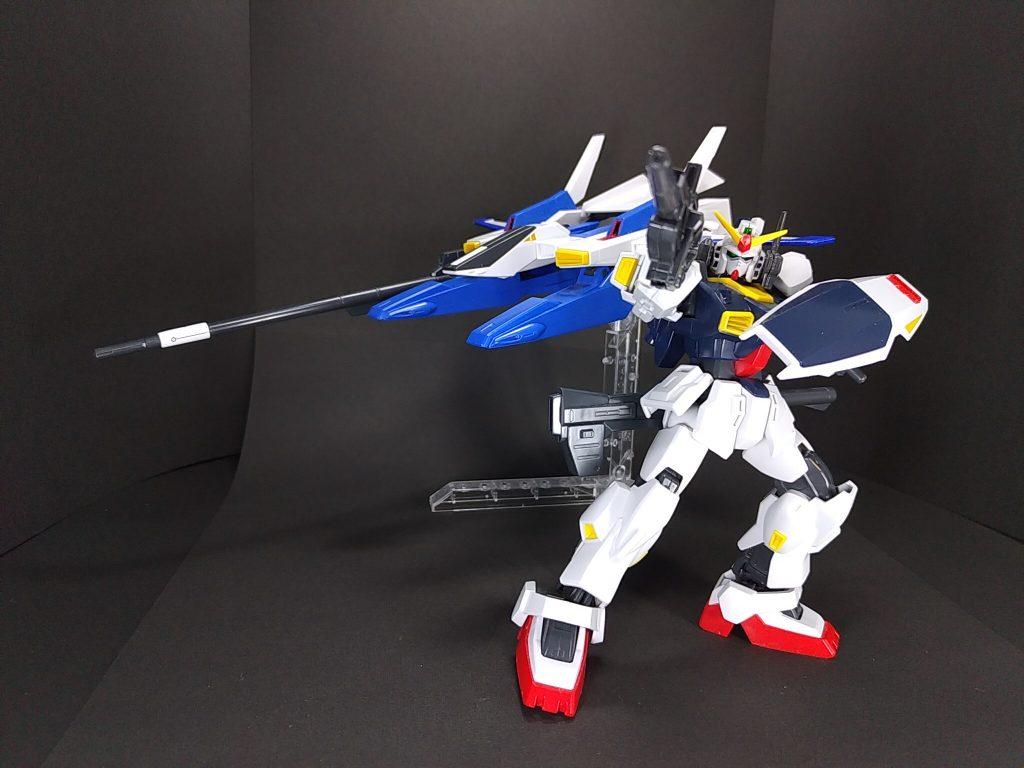 FXA-05D+RX-178 スーパーガンダム アピールショット1