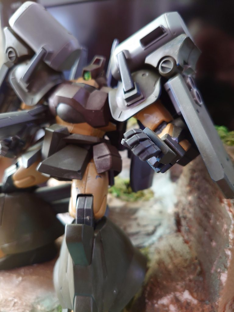 ゼク ディアス:拠点防衛火力強化改修機 アピールショット3