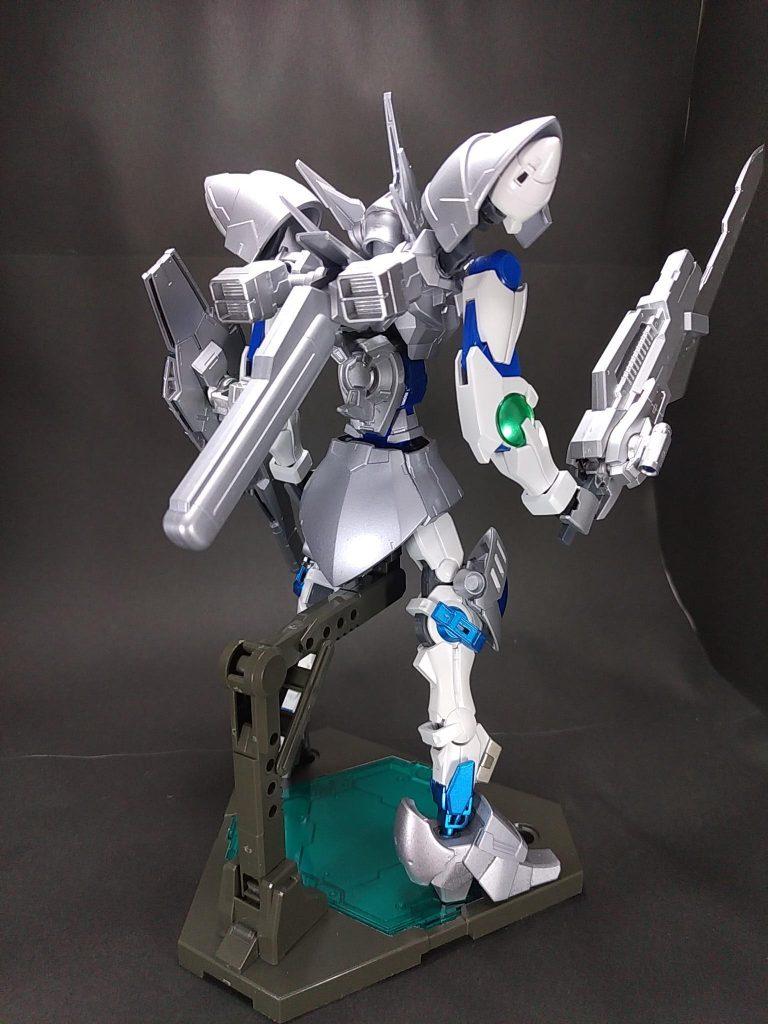 白銀の豪剣士 ガンダムシグルズ[ジークフリート] アピールショット2