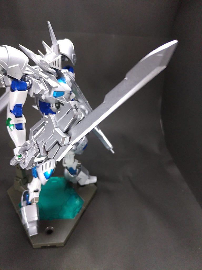 白銀の豪剣士 ガンダムシグルズ[ジークフリート] アピールショット6