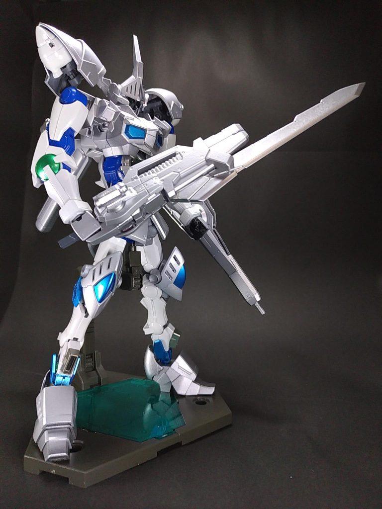 白銀の豪剣士 ガンダムシグルズ[ジークフリート] アピールショット1