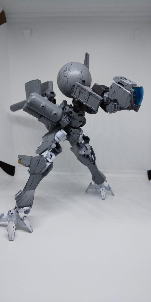光学兵器搭載巨大歩兵「雷撃」