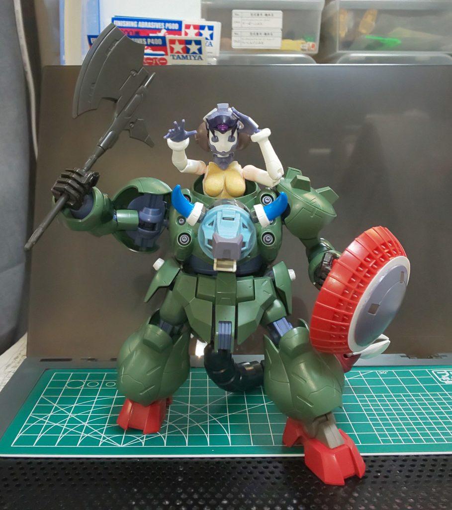 HG ガンダムグシオン(ミノタウロスVer.)