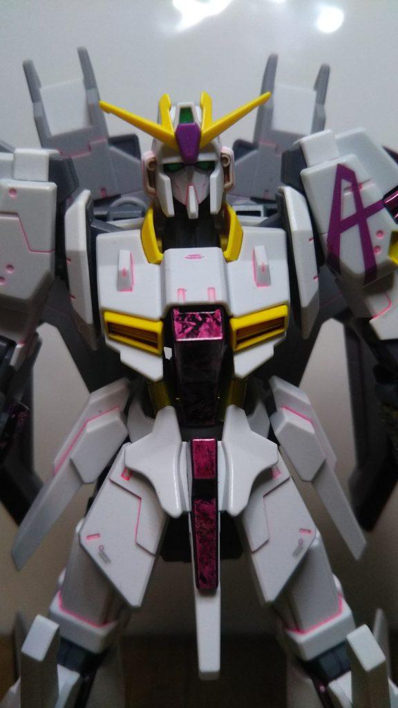 ライトニングZガンダムアスプロス ラップ塗装 アピールショット5