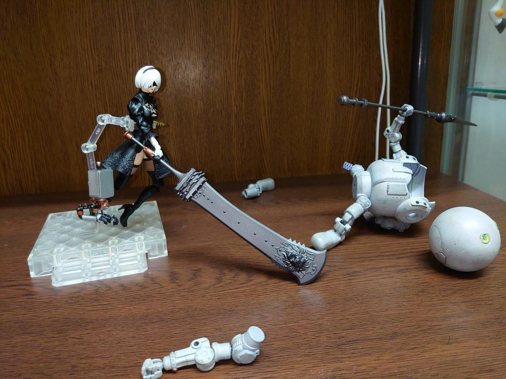 機械生命体-モビルハロ 制作工程2