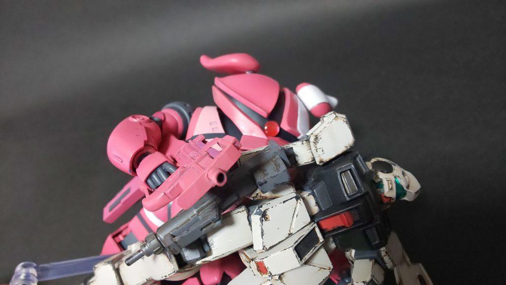 アッガイ(ピンクの悪魔) アピールショット3