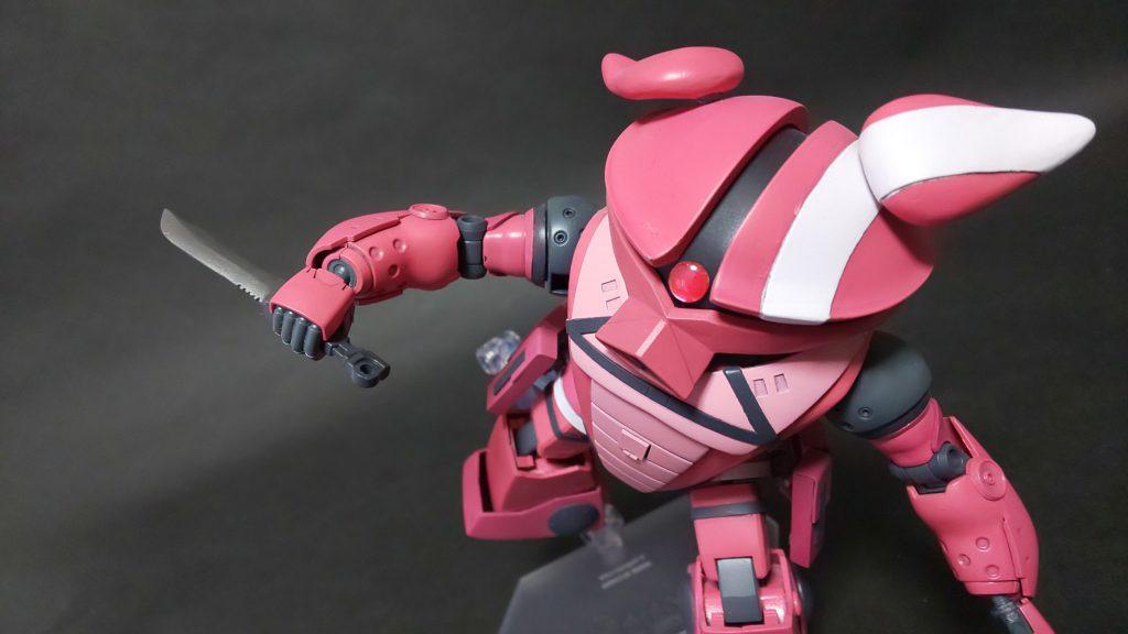 アッガイ(ピンクの悪魔) アピールショット1
