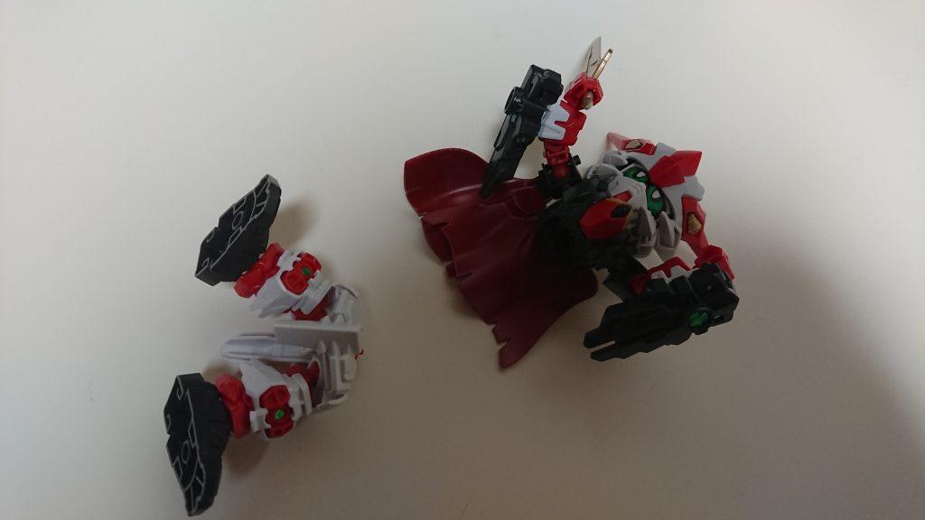 魔法剣士ブレイバーガンダム アピールショット7