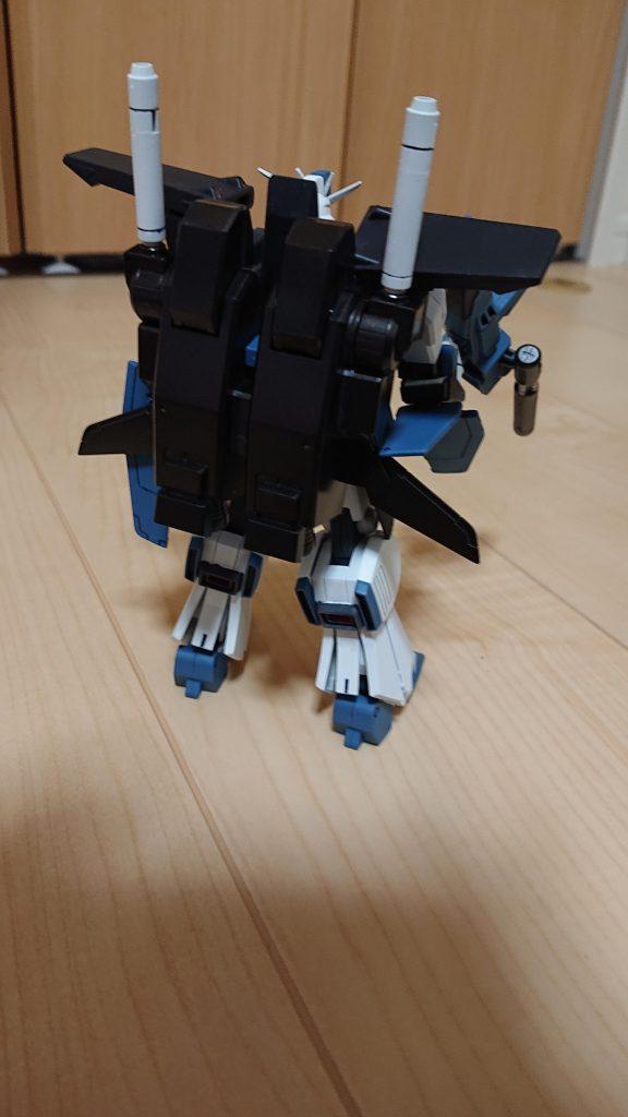 HGUC 1/144 MSZ-010 ダブルゼータガンダム アピールショット2