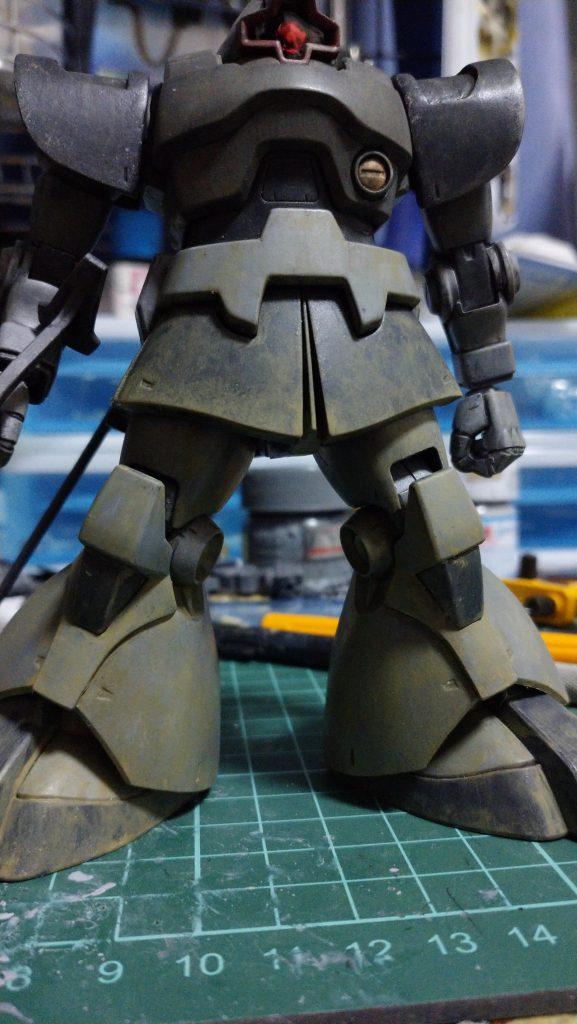 08MS小隊版ドム アピールショット2