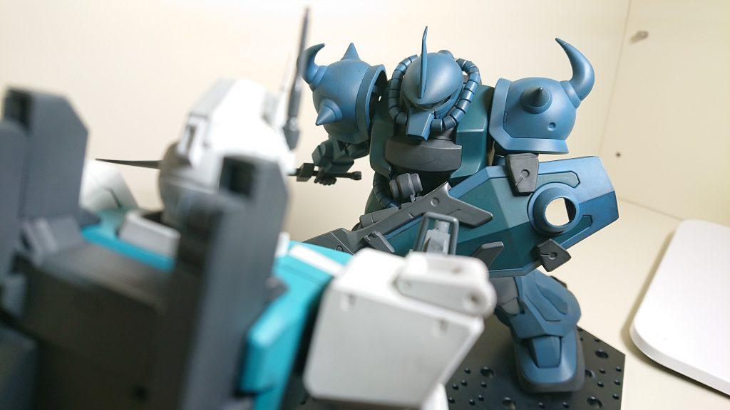 Ez8 vs グフカスタム【衝突する信念】