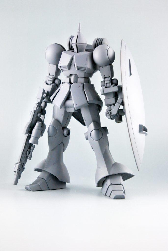YMS-15 ギャン~初代ボードウィンの遺産~ 制作工程1