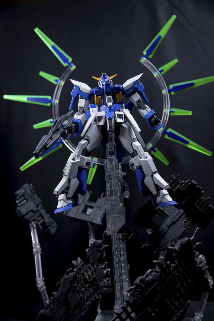 HG ガンダムAGE-FX アピールショット4