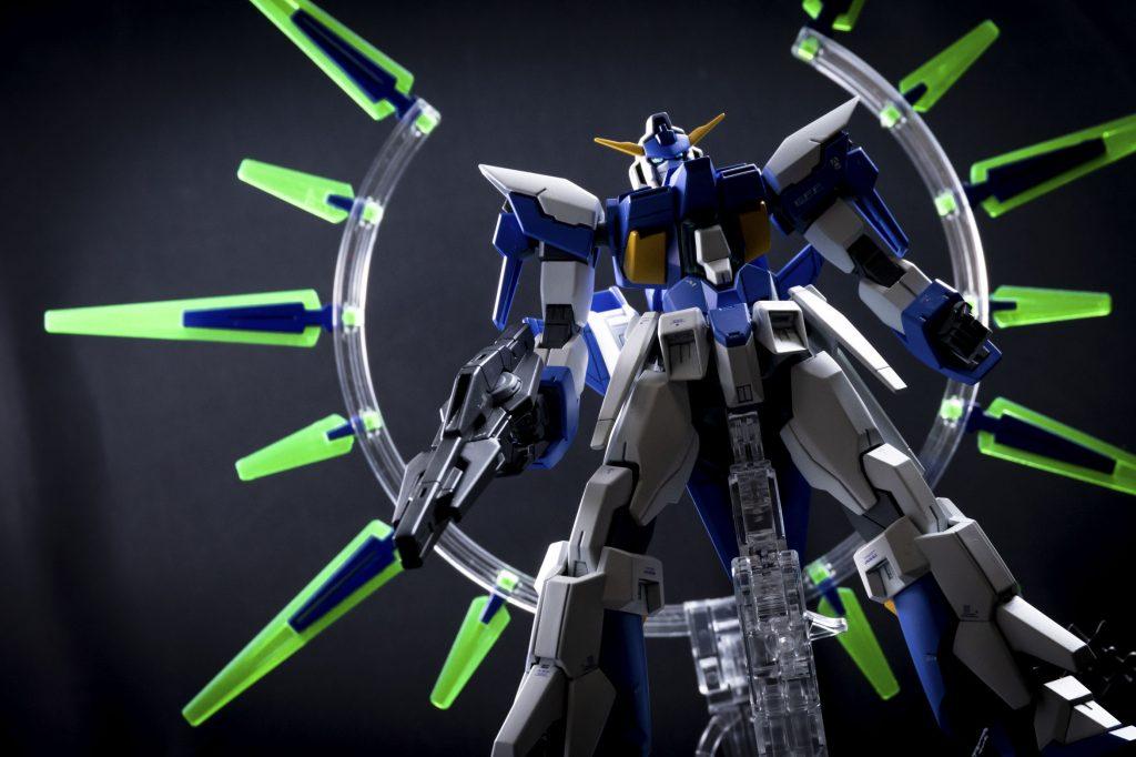 HG ガンダムAGE-FX アピールショット5