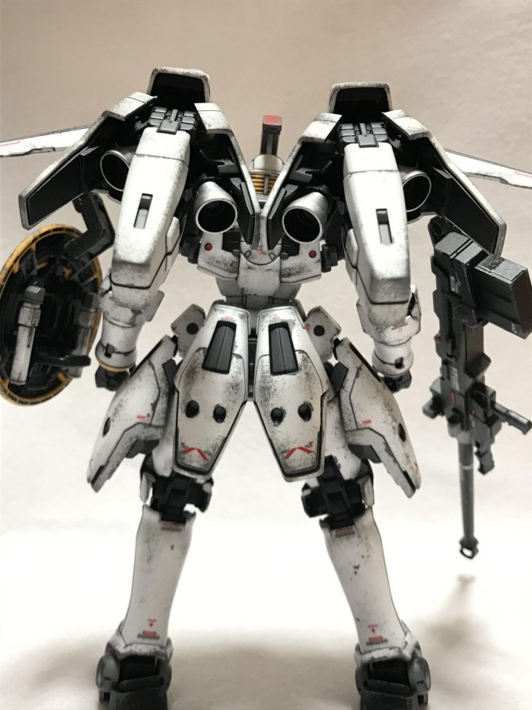 MG 1/100 OZ-00MS トールギスI ウェザリング アピールショット4