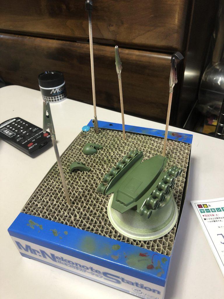 ザクタンク 制作工程1