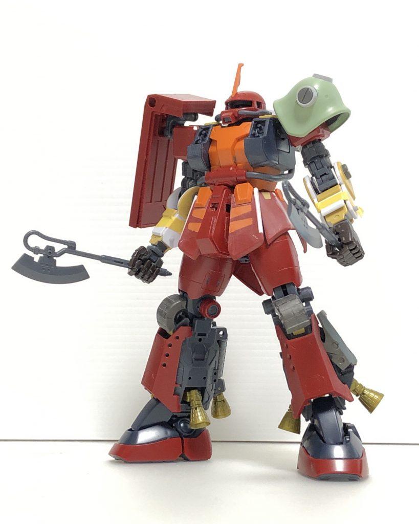 PSYCHO ZAKU Mk-Ⅱ  Daryl Lorentz's custom 制作工程1